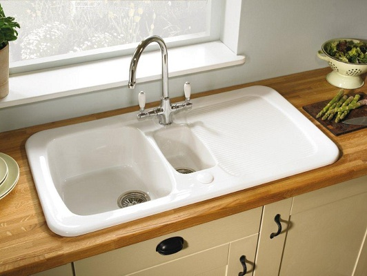 the pros cons of ceramic sinks rh stockcabinetexpress com kitchen sink ceramic repair kitchen sinks ceramic uk