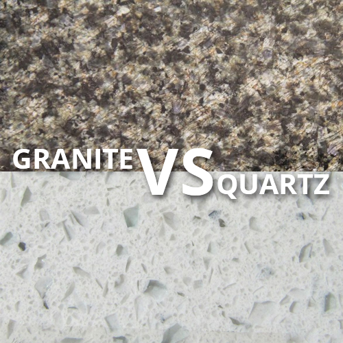 granite and quartz are two of the most popular countertop materials ...