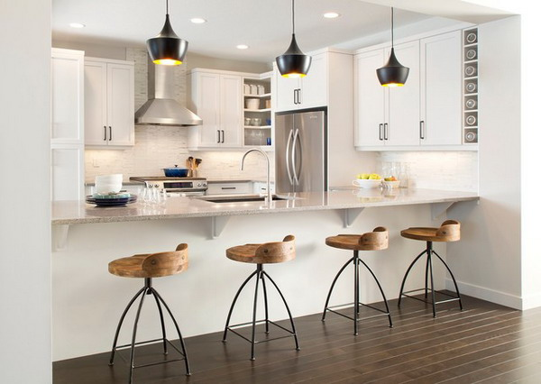 How To Choose The Best Bar Stool For Your Kitchen - Kitchen high chairs