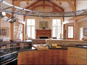 Restaurant-style kitchen