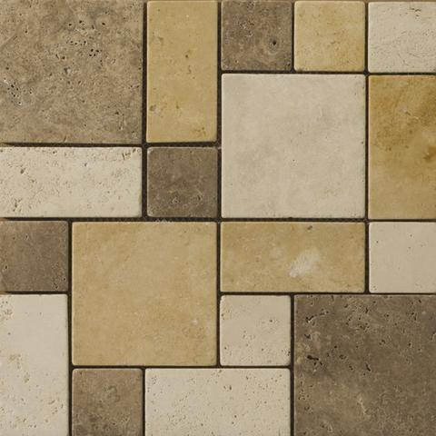 unpolished travertine mosaic tile photo source emser tile