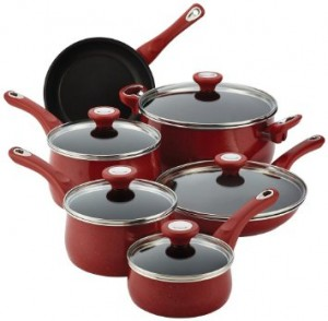 Get new utensils and cookware