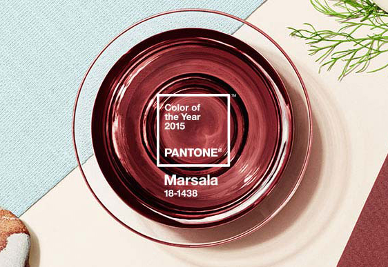 Marsala, Pantone's 2015 Color of the Year