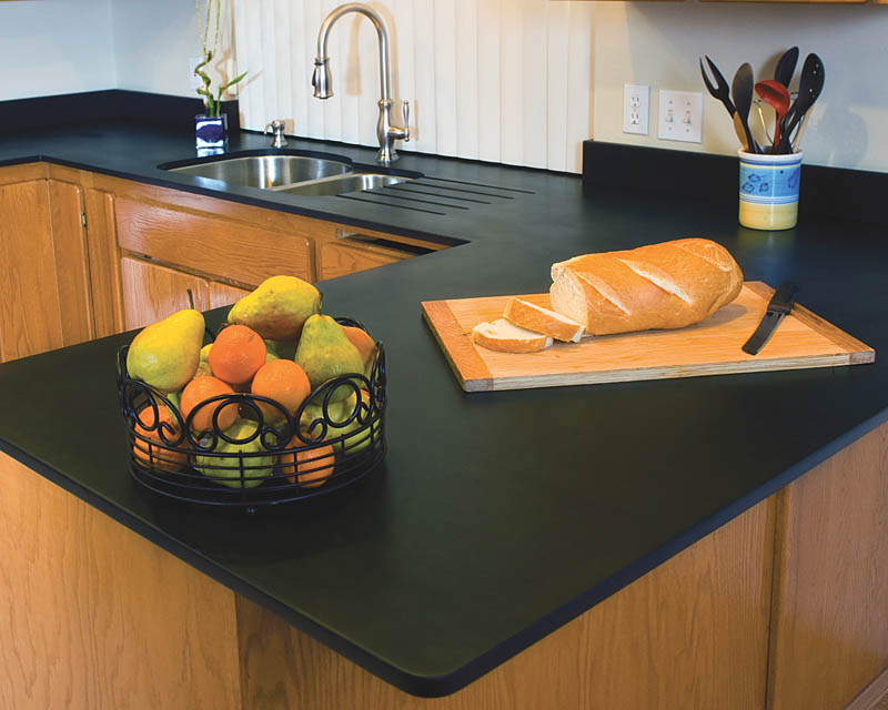 when we talk about countertop materials paper is hardly among the ...