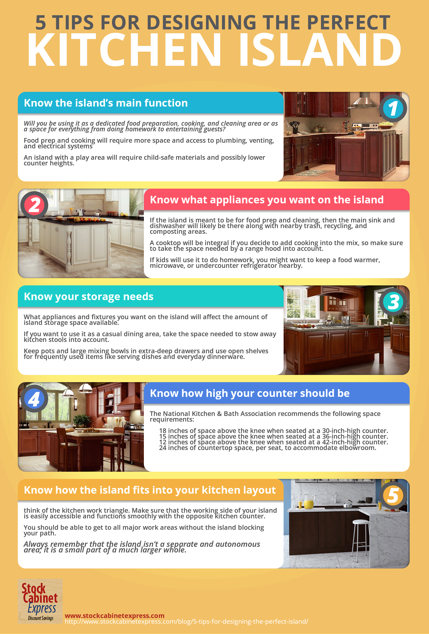 5 Tips for Designing the Perfect Island | Counter Top Kitchen Design Inch on kitchen countertop edge designs, kitchen pass through designs, kitchen floor tile designs, kitchen range hood designs, kitchen backsplash designs, kitchen sink designs,