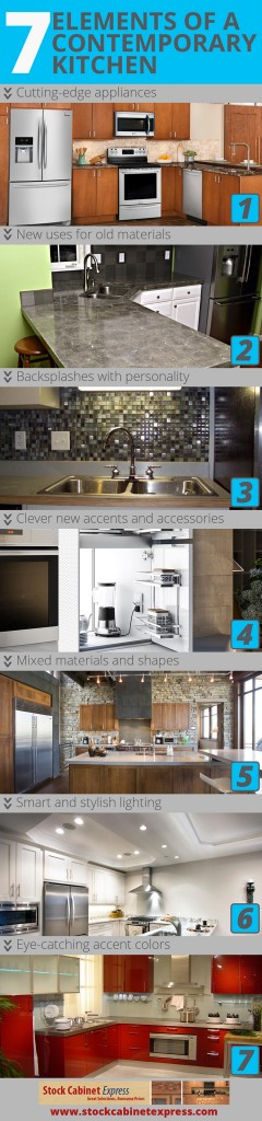 7 Elements of a Contemporary Kitchen