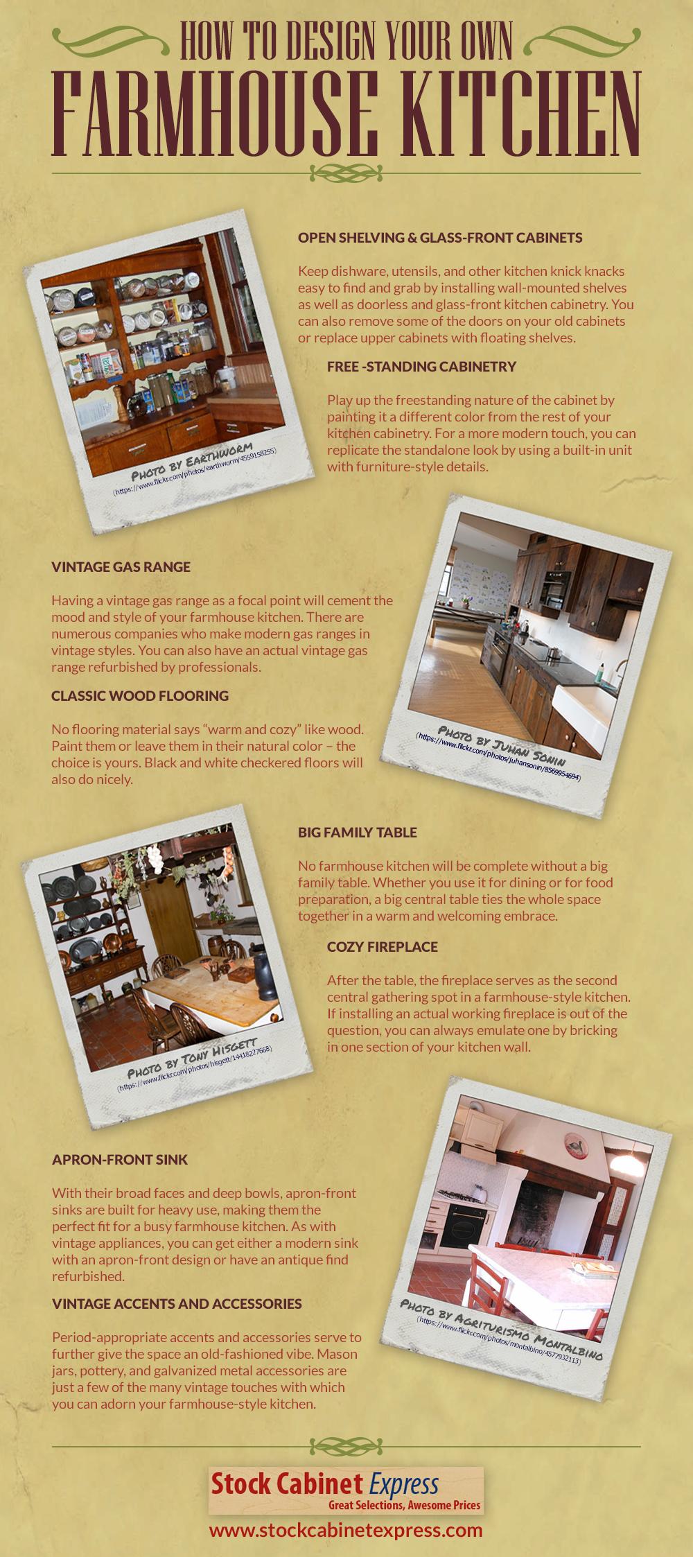 Create Your Own Farmhouse Kitchen