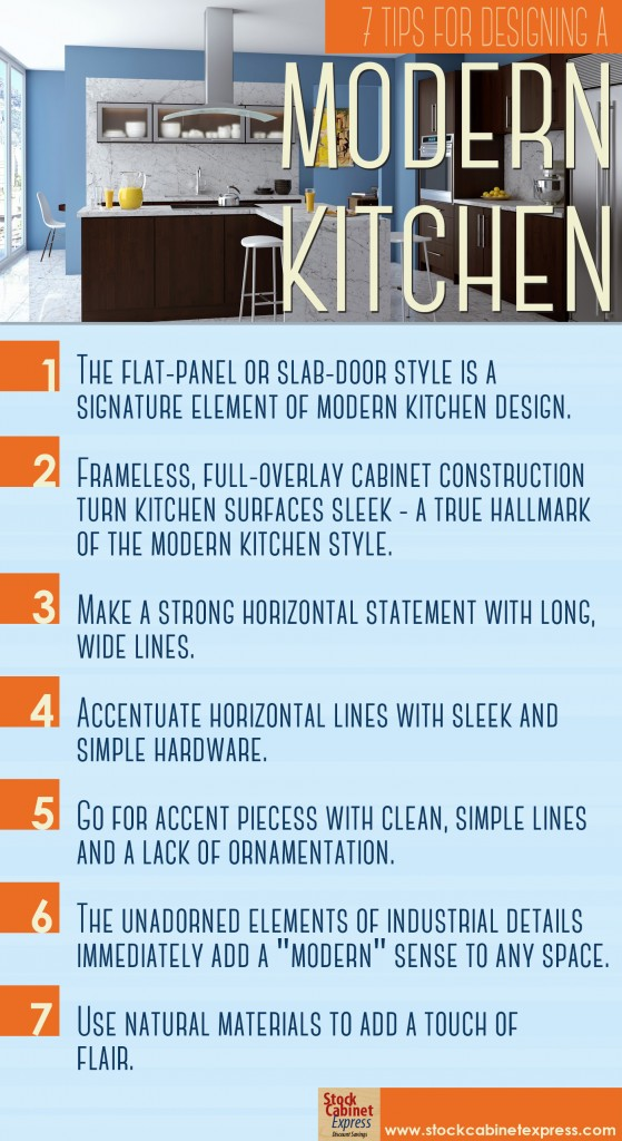 10 Tips for Designing A Modern Kitchen