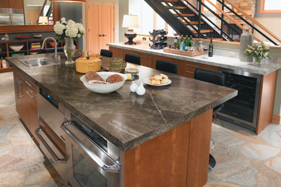 throughout and decor kitchen tops designs wood laminate island countertops