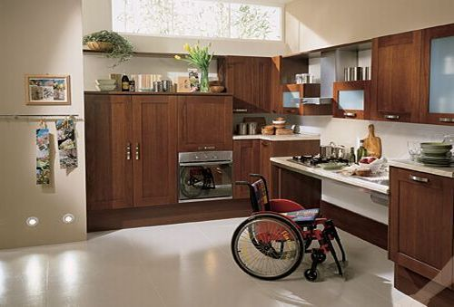Made easy selecting the best flooring for the elderly disabled Kitchen design for elderly