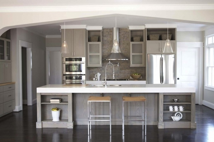 What You Should Know About Popular Kitchen Colors - Kitchen color schemes with grey cabinets