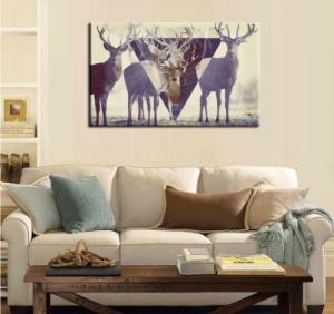 Deer Modern Art Print