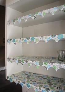 Shelf lining