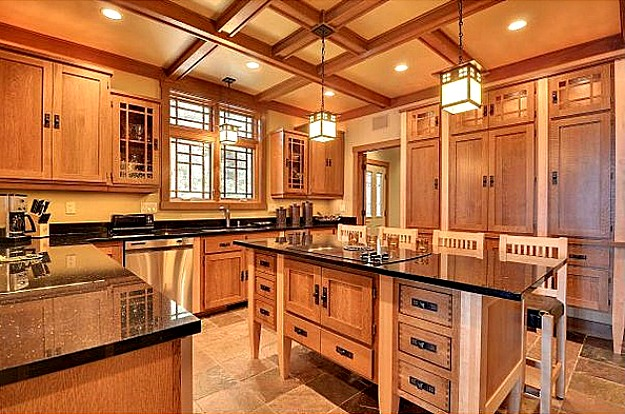 What are the components of a craftsman kitchen for What is in style for kitchens