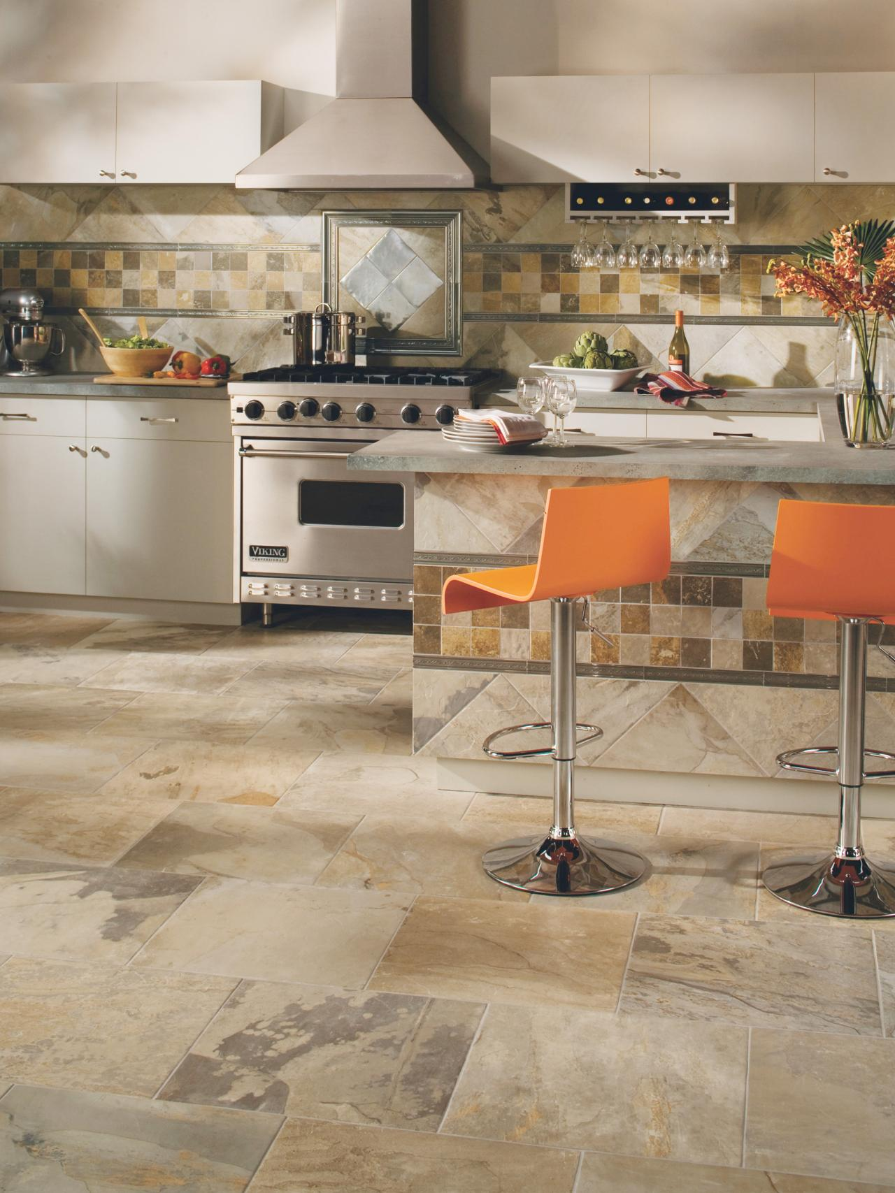 The Pros & Cons Of Ceramic Flooring For Your Kitchen -