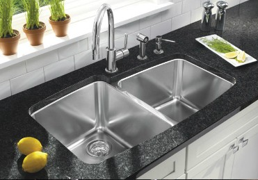Stainless Steel Undermount Sink Photo Source: Blanco Germany
