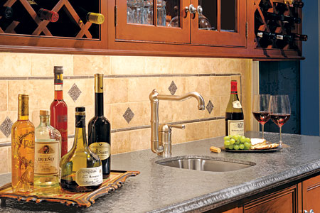 Bars X Wet Bar With Stainless Steel Sink