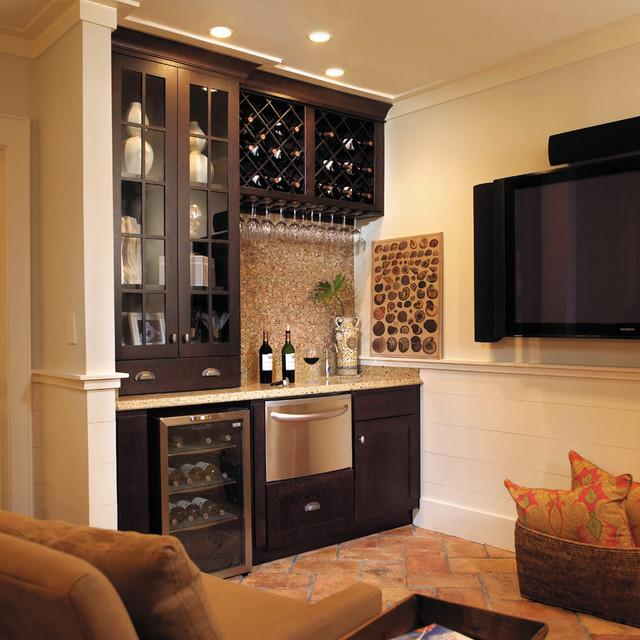 The entertainer 39 s guide to designing the perfect wet bar for Wine rack built in