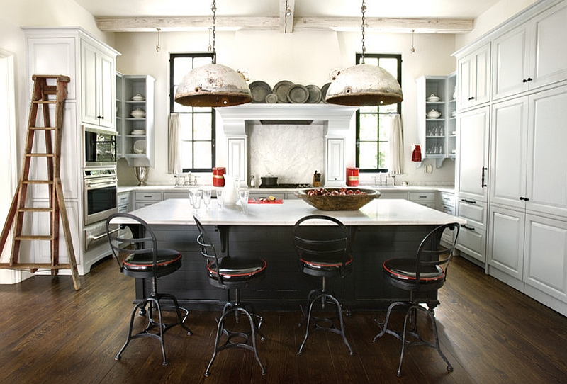 DECOIST - Salvaged-style-for-your-industrial-kitchen-with-DIY-pendants