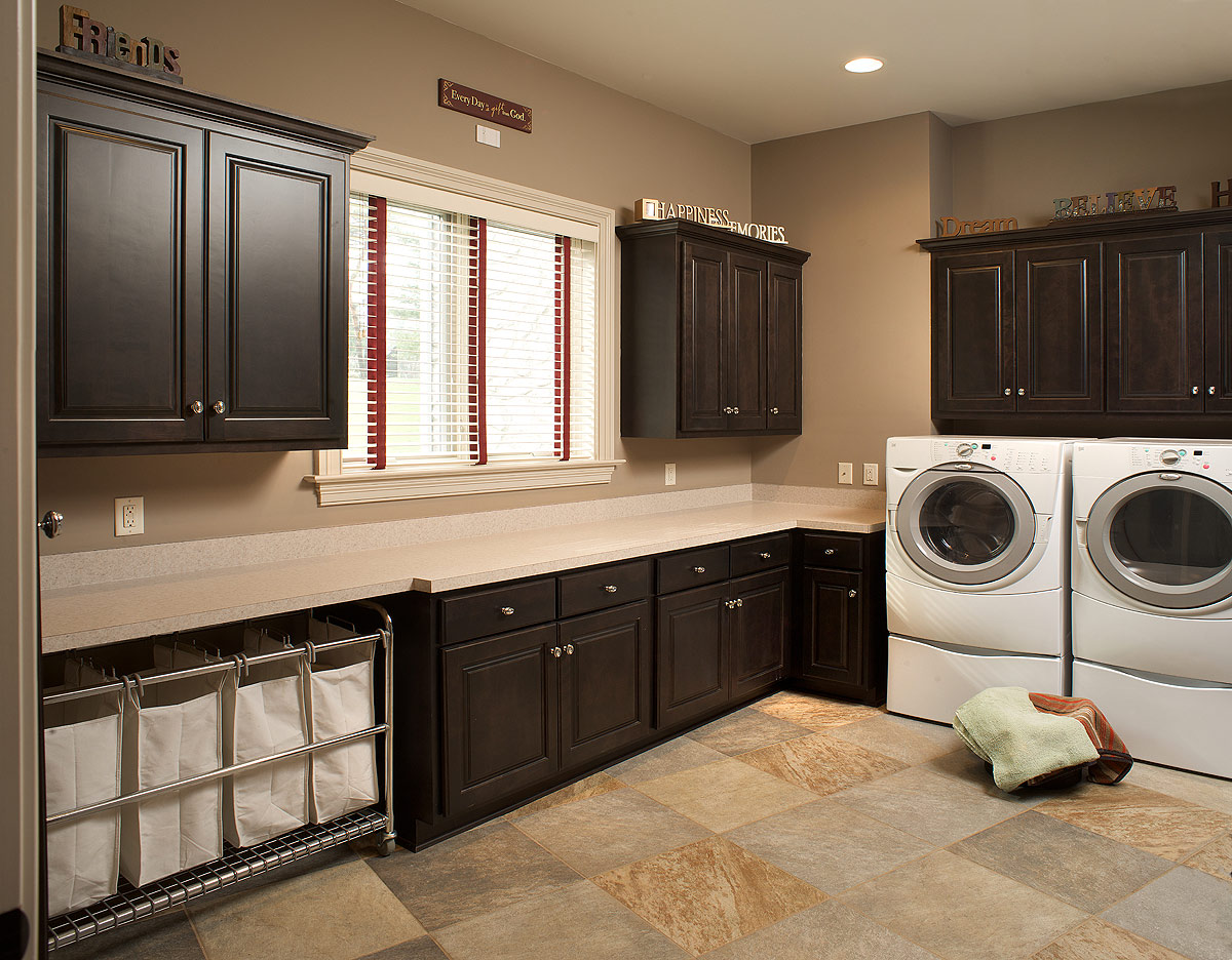 Things to consider when designing a laundry room - Laundry room cabinet ideas ...