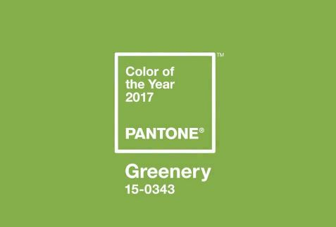 PANTONE Color of the Year 2017, Greenery