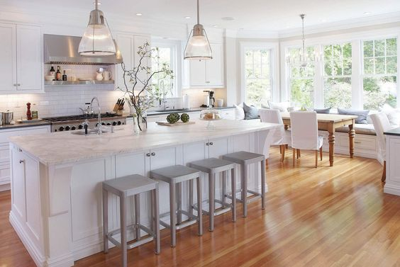 Bamboo Flooring In Modern Kitchen Floorfurnishings Design Inspirations