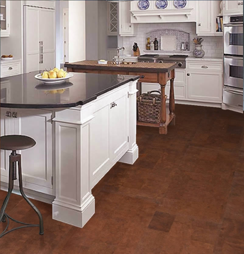 kitchen flooring cork - Kitchen Flooring Ideas
