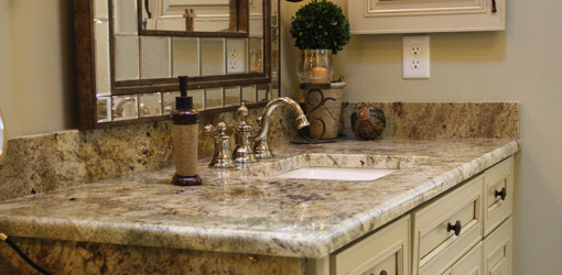 Granite For Bathroom Vanity 5 best bathroom vanity countertop options |
