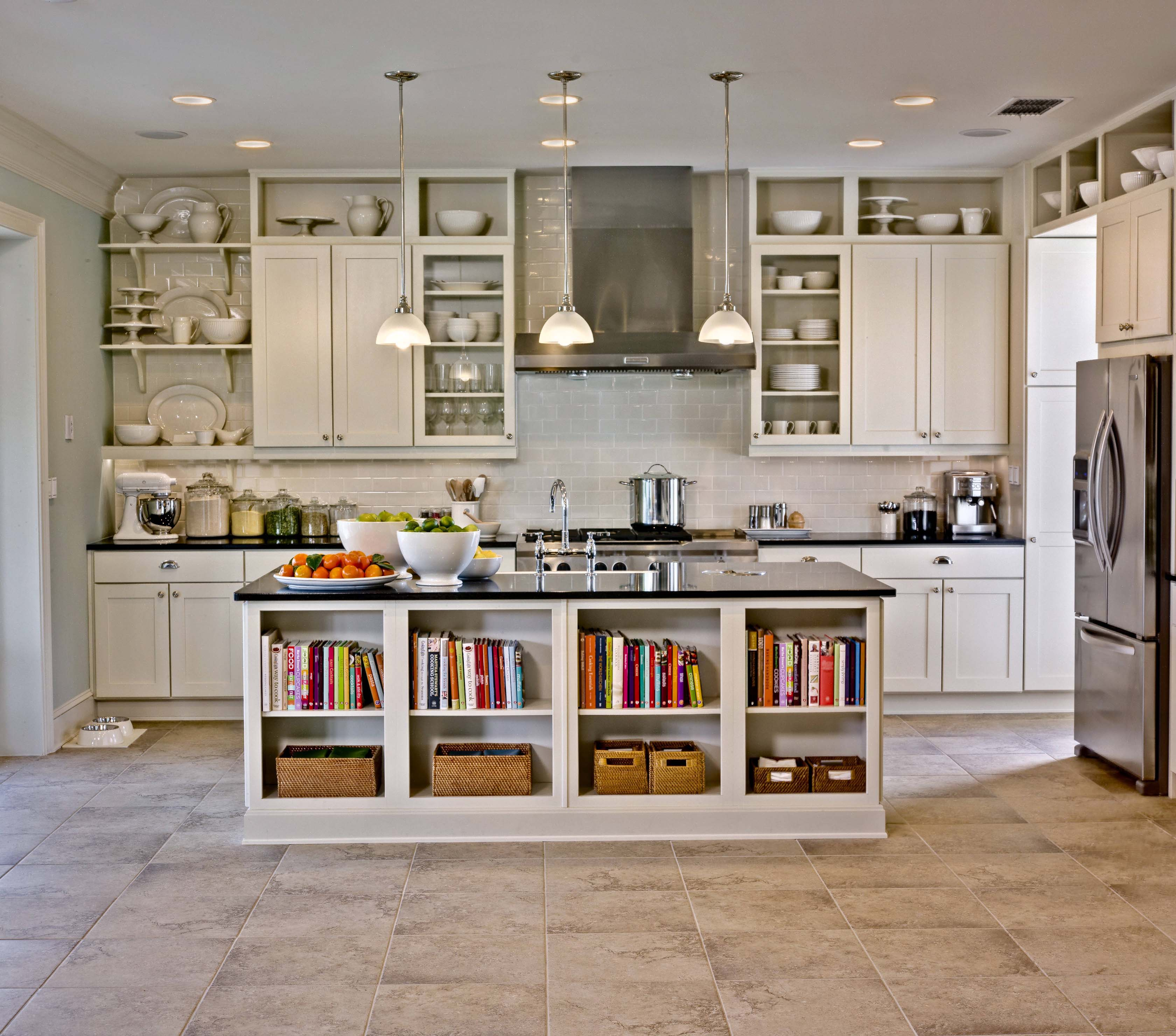 Spring cleaning kitchen cabinets - Builder Concept Home 2011
