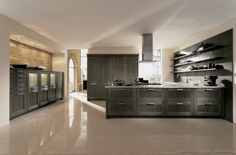6 design ideas for gray kitchen cabinets - Contemporary Kitchen Cabinets