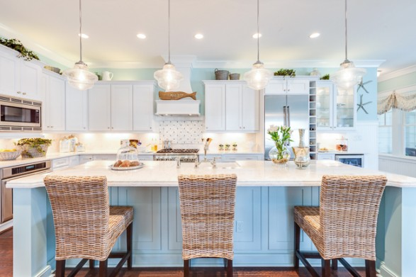 How to design a coastal kitchen for Beach inspired kitchen designs