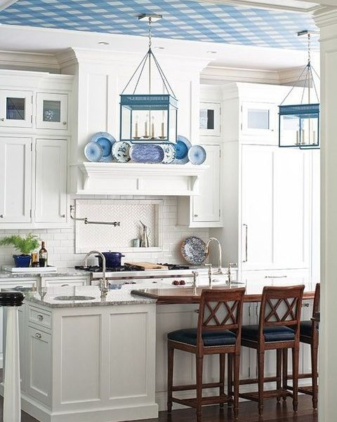 To Incorporate The Hues Of The Ocean, Youu0027ll Find That Most Coastal Kitchens  Include Various Shades Of Blue. There Are Countless Ways To Include Blue In  ...