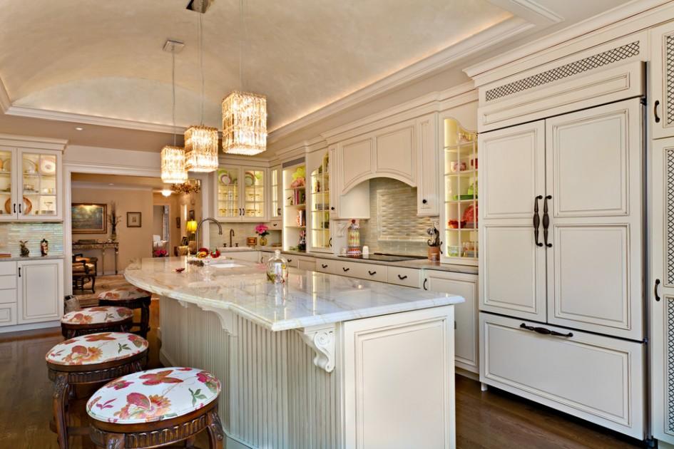 7 ways to make your kitchen island pop for Decorative corbels interior design