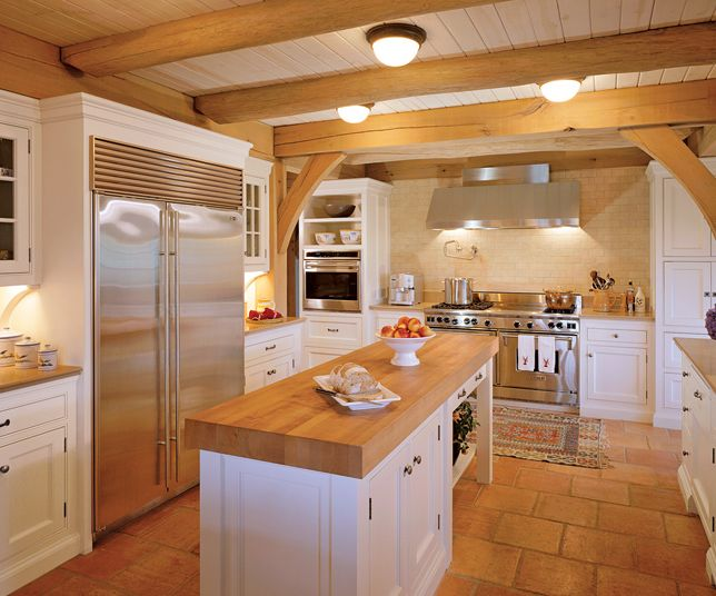 5 Ways To Create A Cozy White & Wood Kitchen |