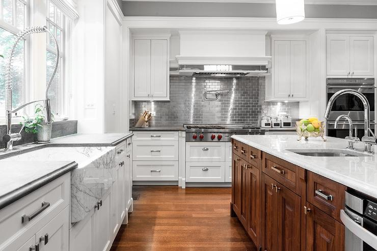 7 Bold Backsplash Ideas For Your Boring White Kitchen