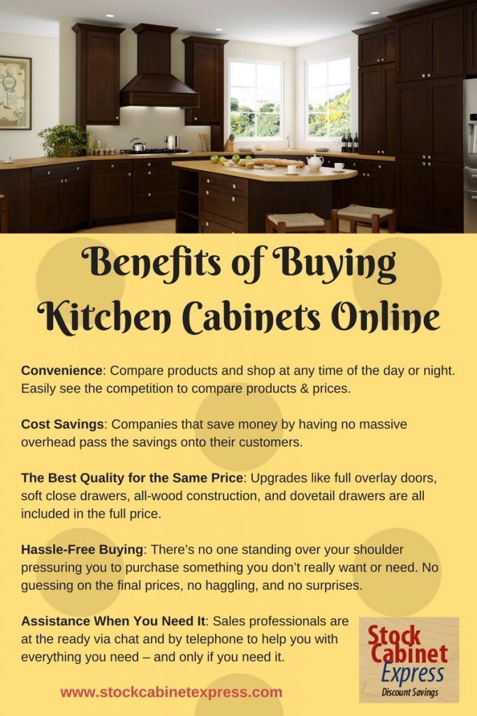 The Benefits Of Buying Kitchen Cabinets Online Stock Cabinet Express