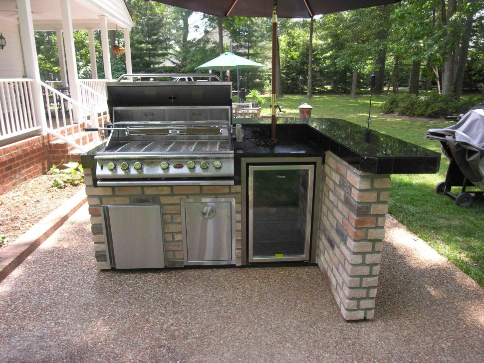 How To Set Up An Outdoor Kitchen on Patio Kitchen Set id=19810