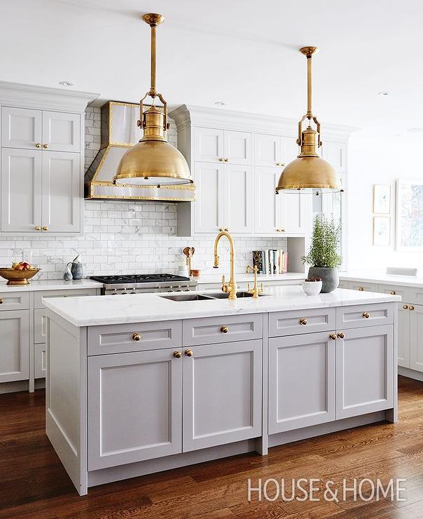 Allison Wilson Kitchen House Home Gray Cabinets