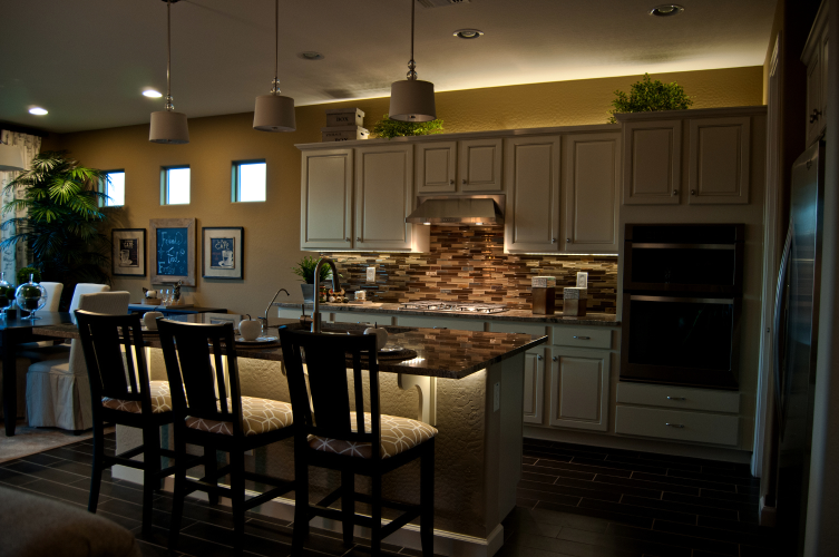 kitchen lighting under cabinet 7 ways to make your kitchen island pop 21819