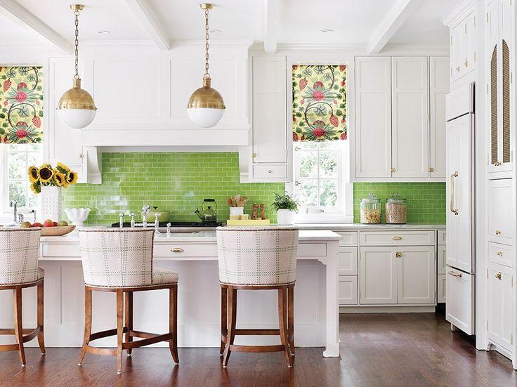 7 Bold Backsplash Ideas For Your Boring White Kitchen
