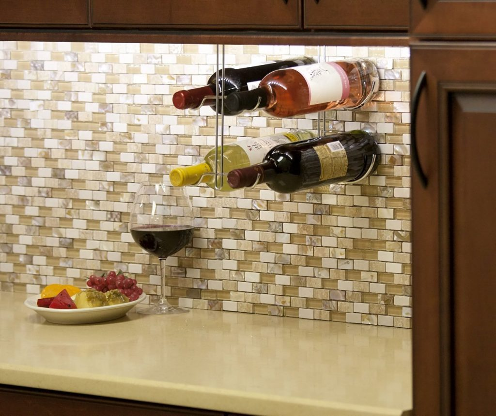 wine racks for kitchen cabinets 6 simple kitchen design ideas for wine 1913