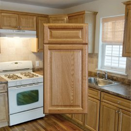 country oak classic rta cabinets stockcabinetexpress