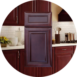 k series cherry glaze kitchen cabinets stockcabinetexpress