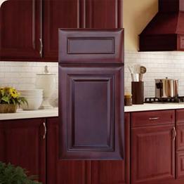 K Series Cherry Glaze Kitchen Cabinets Stockcabinetexpress