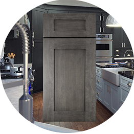 Greystone Shaker Kitchen Cabinets stockcabinetexpress