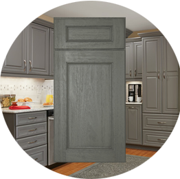 Midtown Grey Kitchen Cabinets stockcabinetexpress