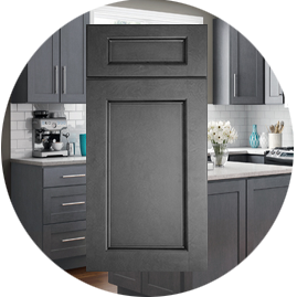 Townsquare Grey Kitchen cabinets stockcabinetexpress