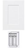 Ice White Shaker Vanity Cabinets