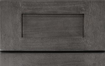 Greystone Shaker Kitchen Cabinets Details