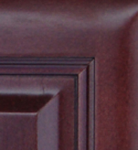 Cherry Glaze Kitchen Cabinets Details : Click to Enlarge